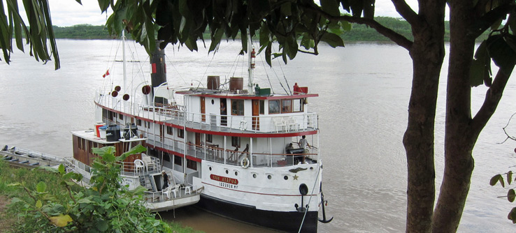 Amazon Riverboat Exploration aboard the Ayapua.