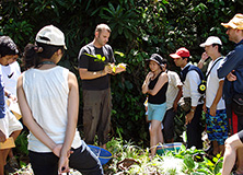 BAT staff joined scientists on Earthwatch project