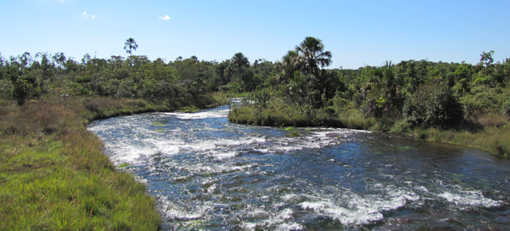 Teams will work alongside the Araguaia River.