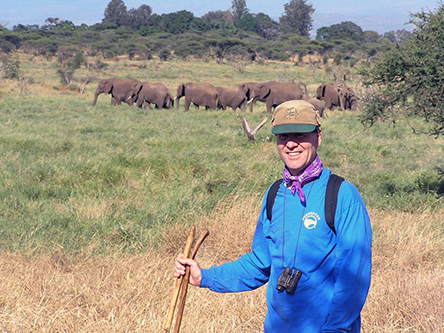 Bruce is studying human livelihoods, biodiversity, elephant behavior, and ecosystem functions in the Tsavo ecosystem in Kenya, in partnership with Wildlife Works.