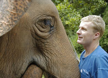 John Roberts of The Golden Triangle Asian Elephant Foundation.