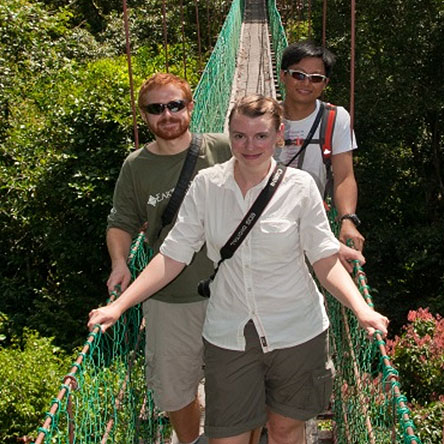 Catherine Hetherington, a Government Relations Advisor from Shell, took part in the programme in 2010, and acted as a mentor to three members of staff from Gulung Mulu National Park in Malaysia.