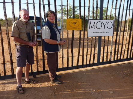 Ian Gaigher at the MOYO Conservation project.