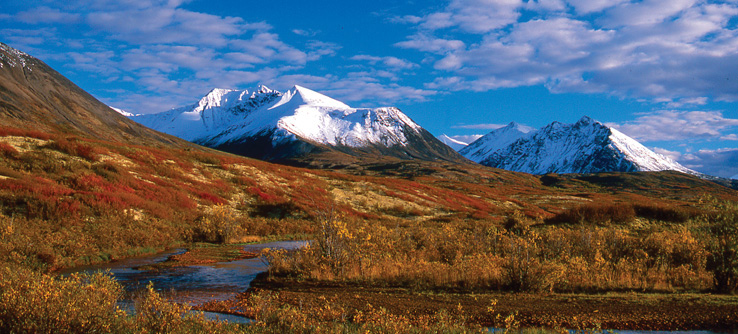 Mackenzie Mountains, Yukon-Northwest Territories, Canada
