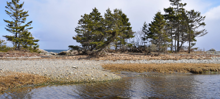Nova Scotia coastline, Canada