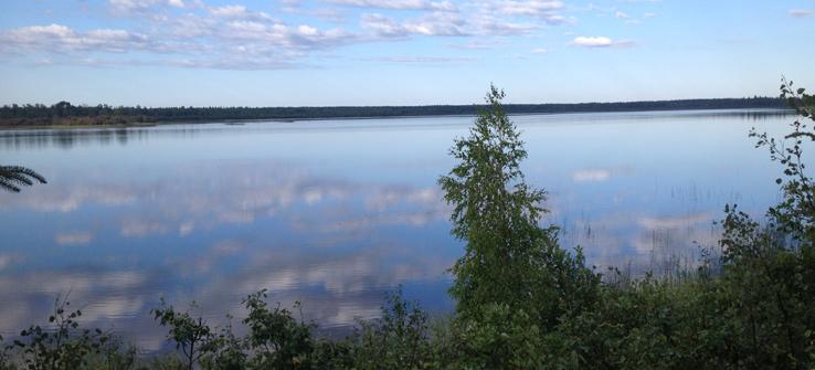 Teams work in Saskatchewan's lovely Meadow Lake Provincial Park.