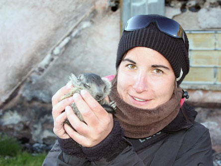Earthwatch Scientist: Marie-Lea Travert