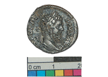 Roman coin discovered on Earthwatch archaeological dig in Devon