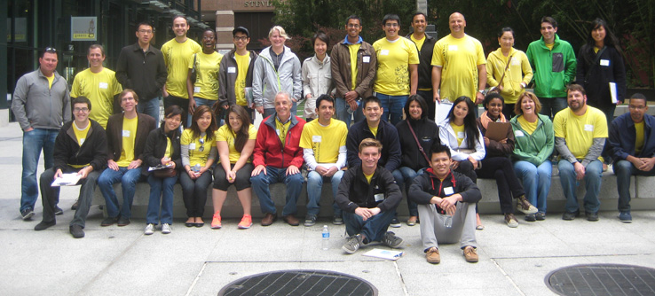 Volunteer Team, Earthwatch's Urban Forest Project