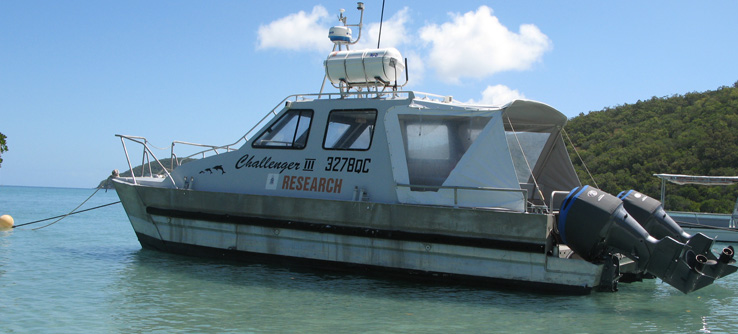 Earthwatch Research Boat, Great Barrier Reef, Australia