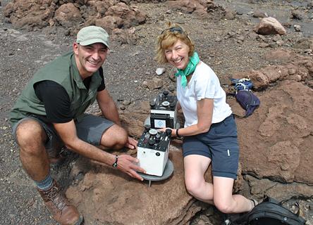 Prof. Hazel Rymer, Volcanologist studying Masaya Volcano in Nicaragua