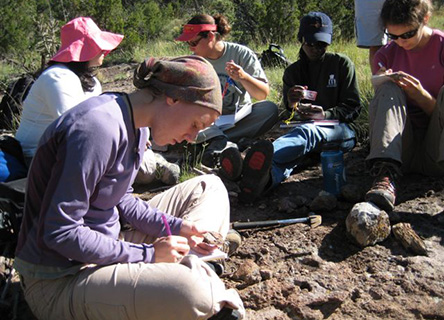 GEOLOGY WORK AT THE RIO GRANDE RIFT
