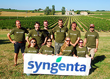 Syngenta employees and stakeholders participated in research and experiential learning programs at Upton Estate and Château les Vergnes, Bordeaux.