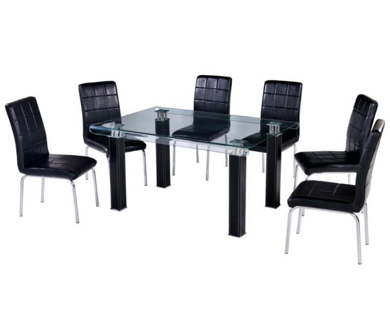Comedor elegance con 6 sillas 9 en mercado libre for Amazon muebles comedor