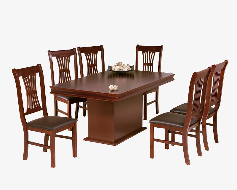 Comedor berna con 6 sillas pm 3411183 9 en for Comedores coppel