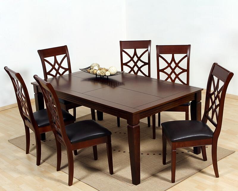 Comedor luxemburgo con 6 sillas pm 3095753 11 for Comedor 4 sillas coppel