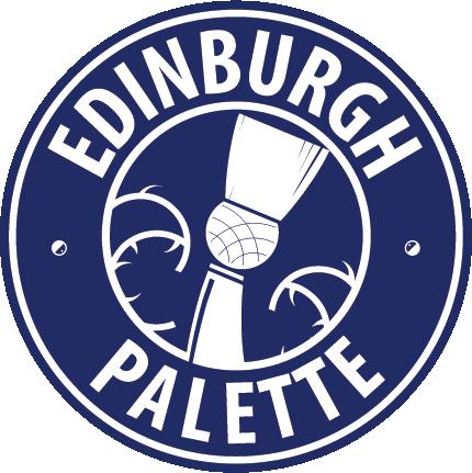 White on Blue badge logo -web