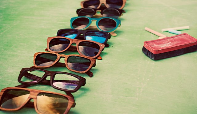 Shades of Cool: Wood Sunglasses