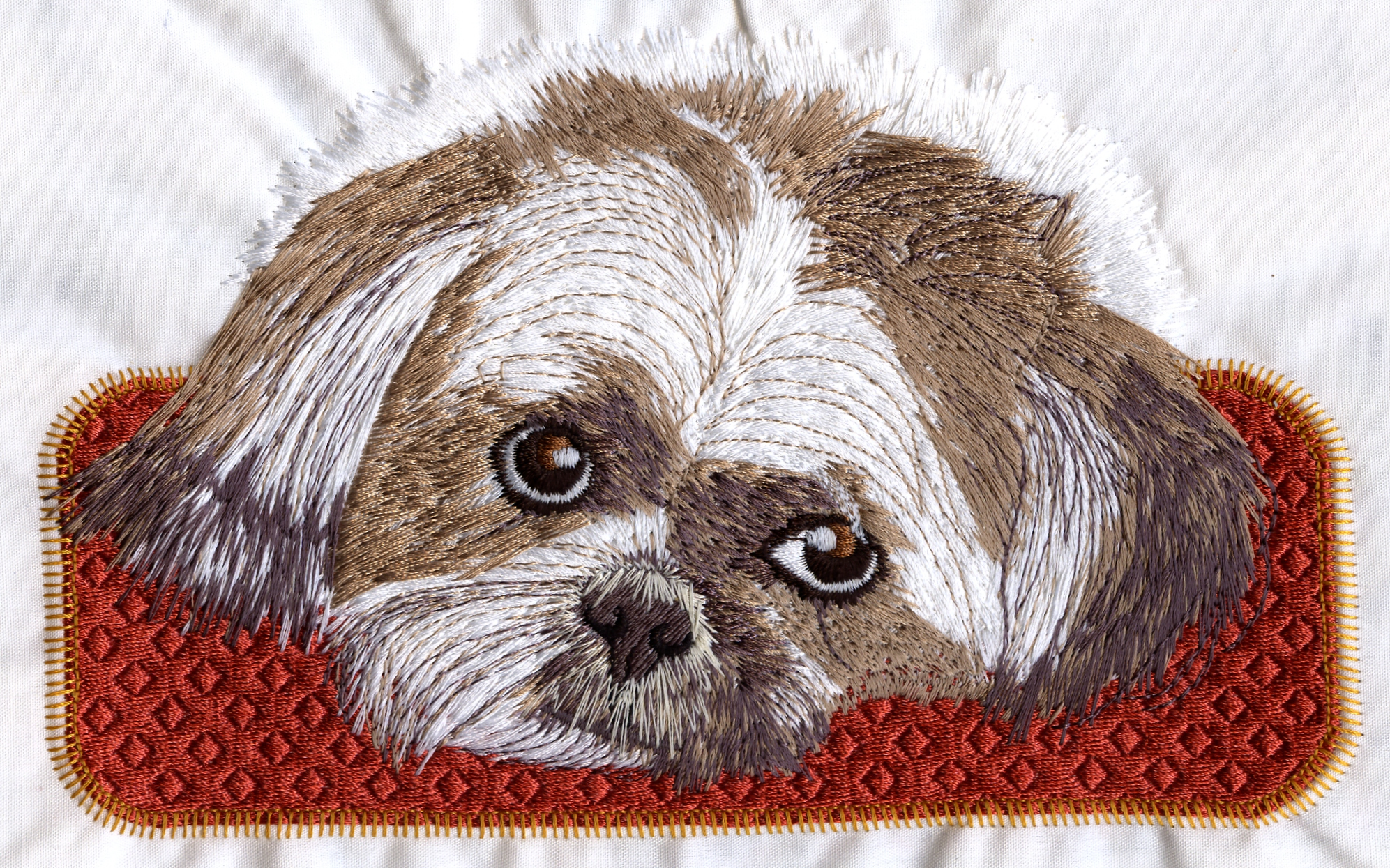 Shih Tzu C0021 Embroidery Design By Country Design