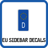 European Union Sidebar Decals