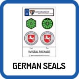 German Plate Seals