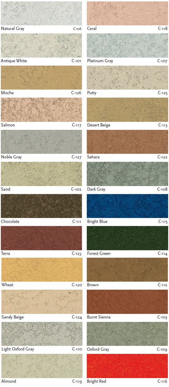 liquid concrete color chart - Ciment Color