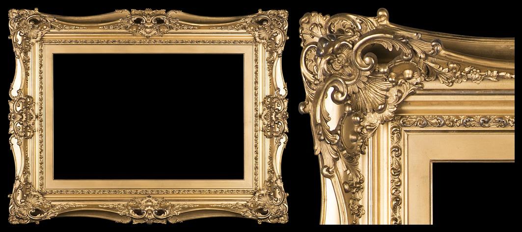 French Empire Antique Frames
