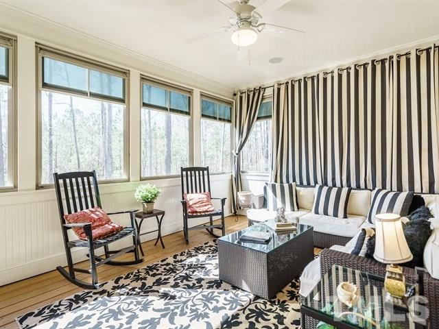 Both the Master Bedroom and Master Bath have tray Ceilings that give an extra posh feeling.  Sooo nice!