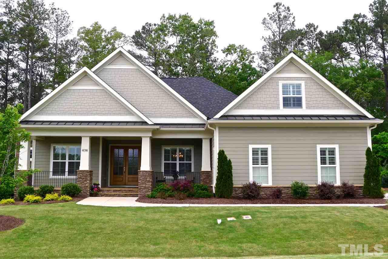 436 nickel creek circle cary nc fonville morisey real for Exterior home accents