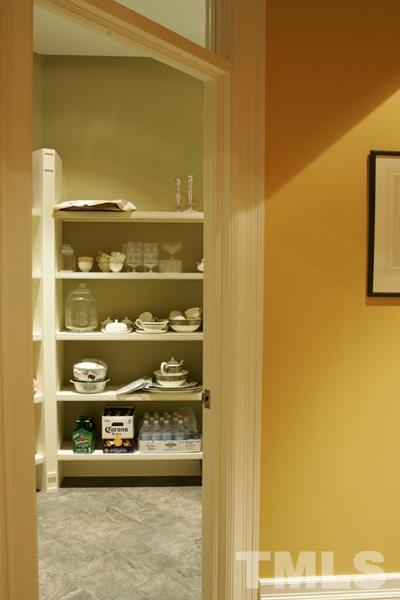 Big Pantry in kitchen for all your staples, large appliance and serving dishes