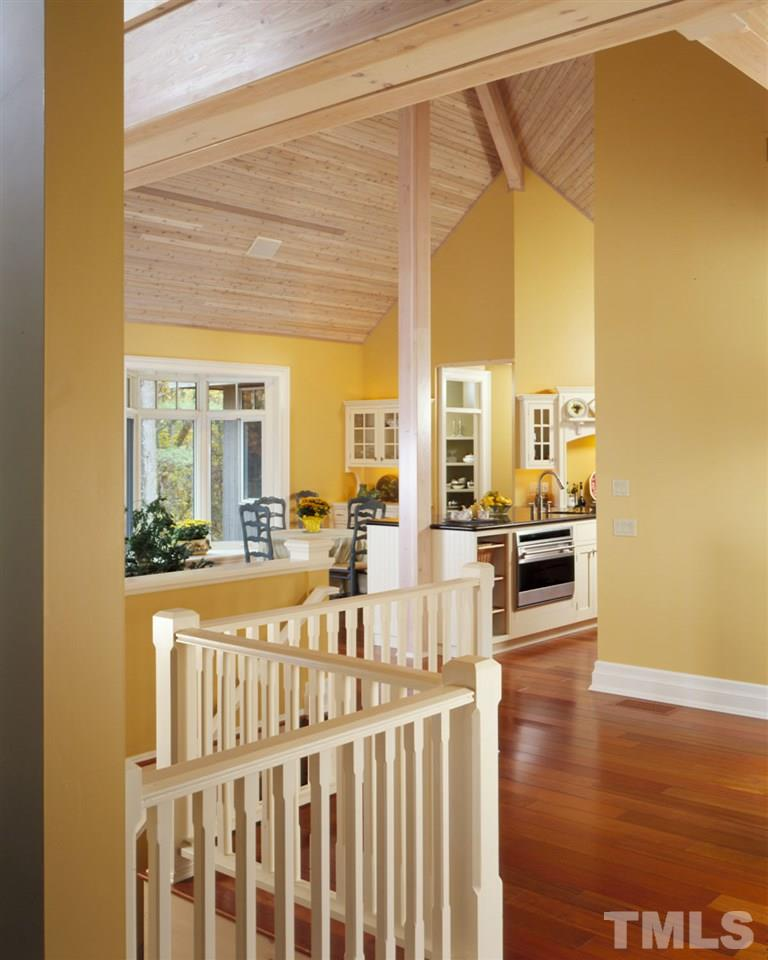 Intriguing open floor plan flows from one room to the next