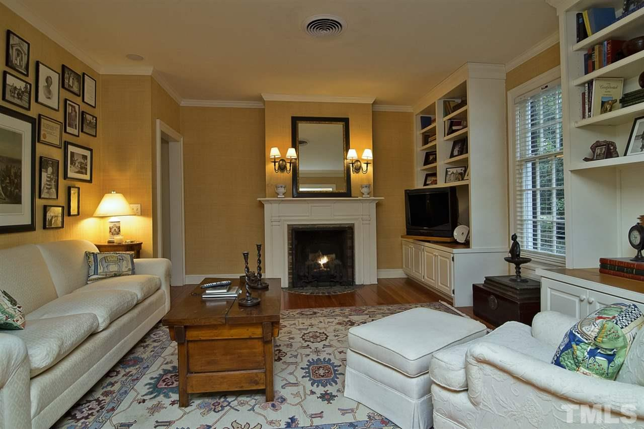 Cozy, private sitting room invites you to the beautiful master.