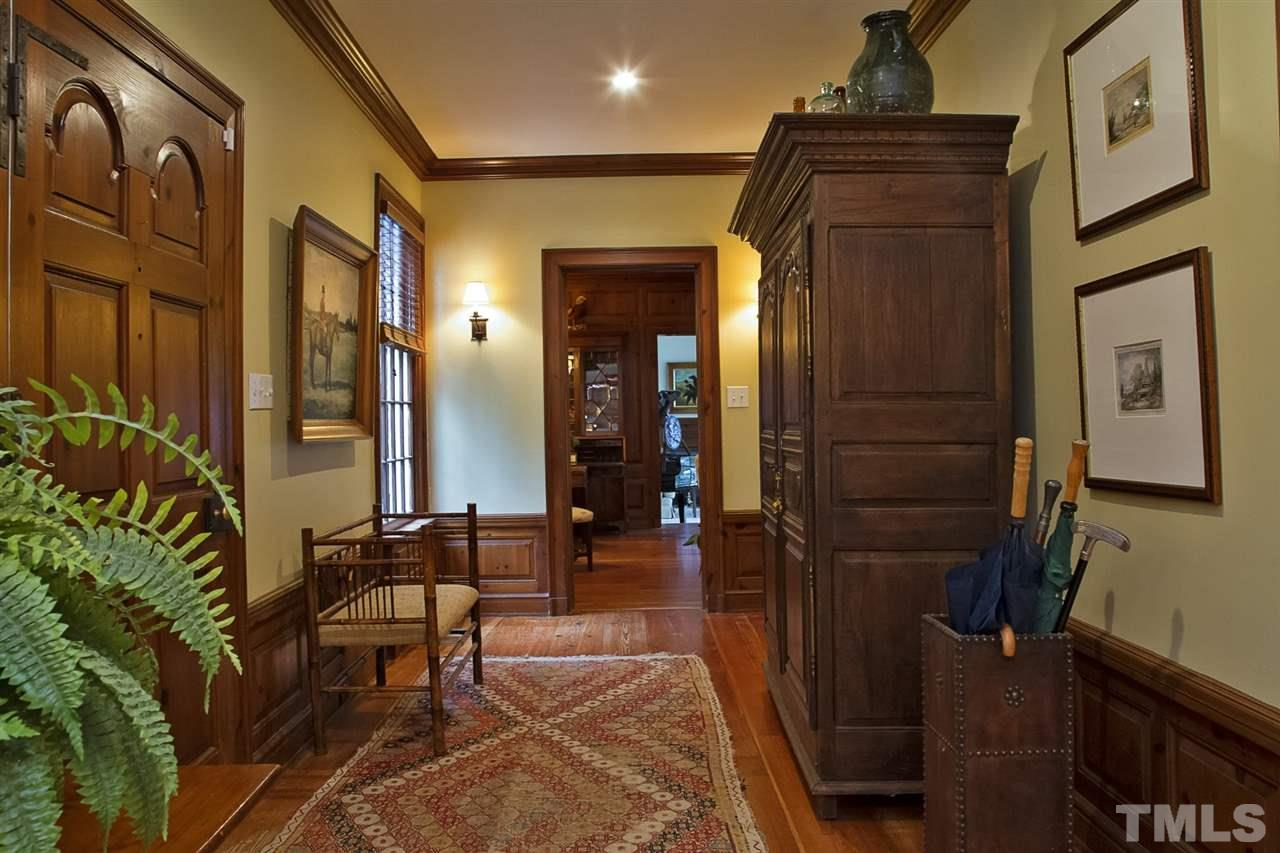 Step back in time in this 1895 entryway.