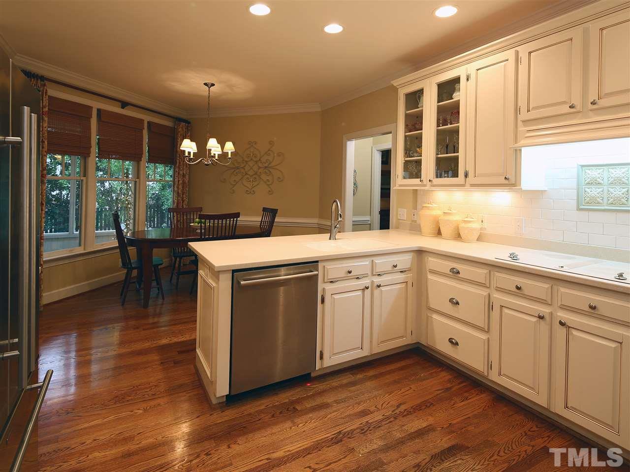 Kitchen with breakfast area