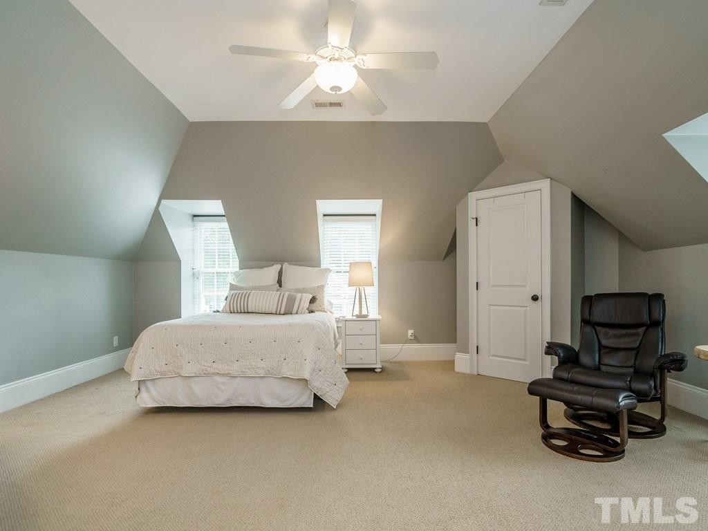 This bedroom can function as a nice bonus room