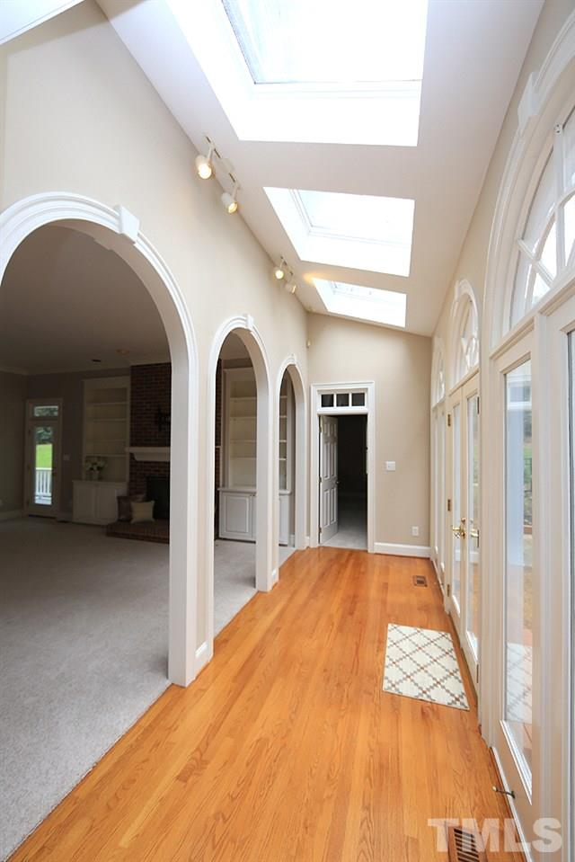 Lots of light for enjoying this great kitchen. Mud room is nearby.