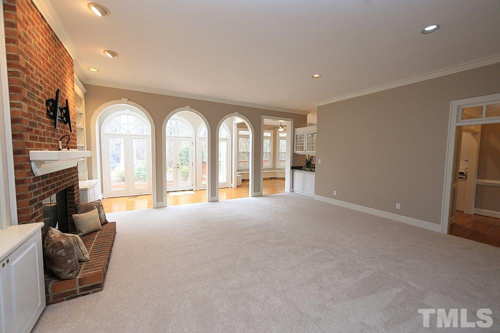 Very convenient floor plan with back stairs that easily access the kitchen.