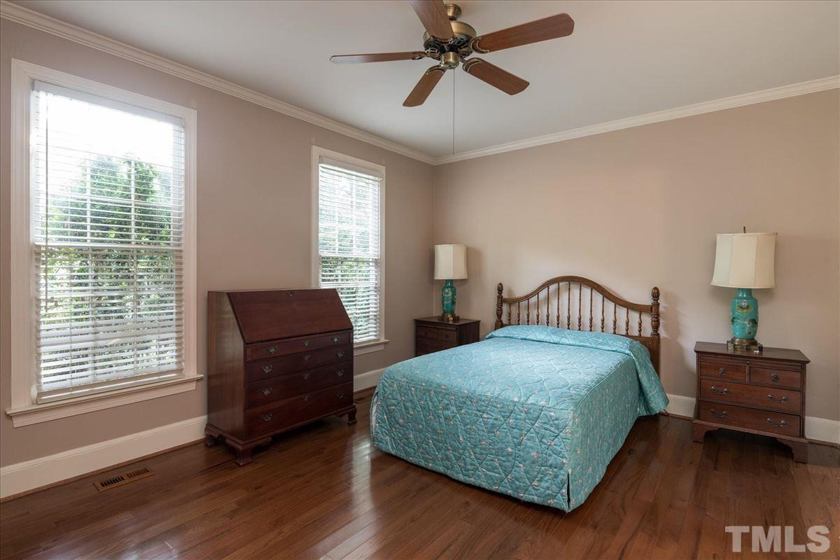1st floor guest bedroom which has it's own full bathroom and laundry