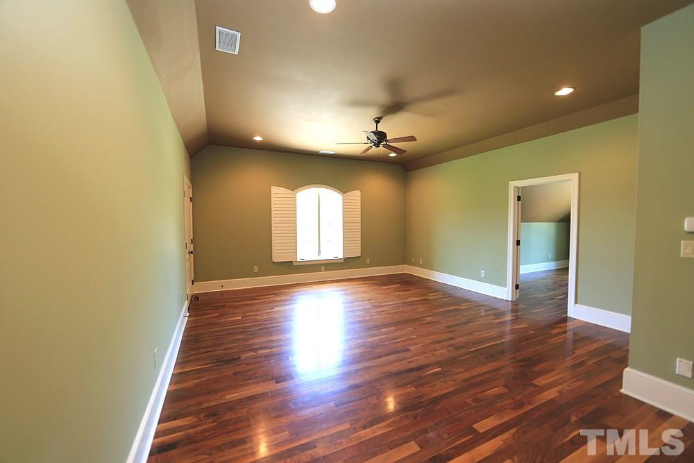 This spacious bonus room features two closets, a bathroom and then another room off that would make a wonderful craft or hobby/reading room