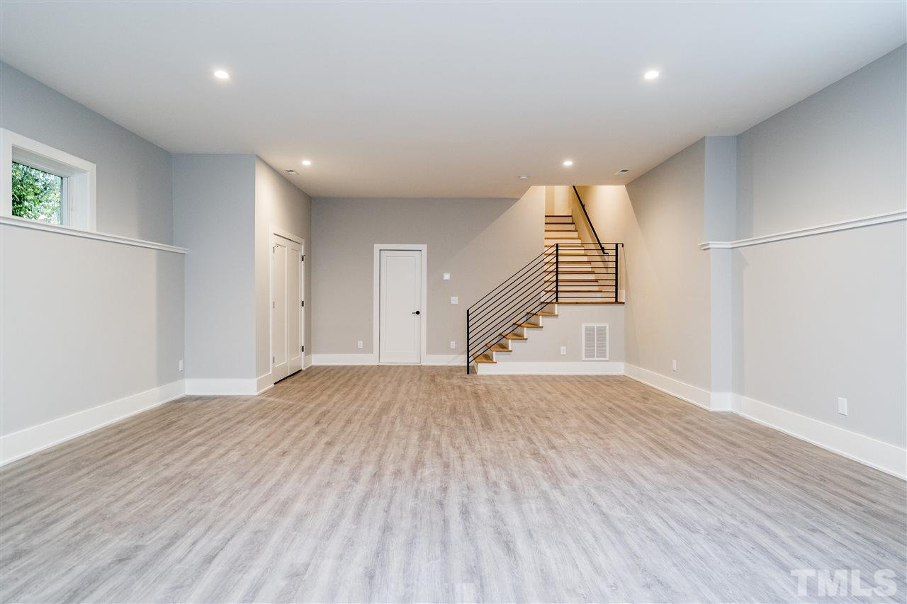 Lower Level has over 500 square feet of storage and pre-plumbed bathroom