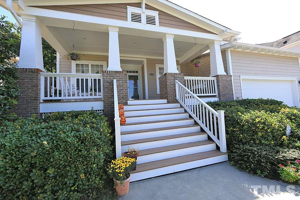 Huge Southern front porch, with swing!  Perfect place to spend your fall evenings!