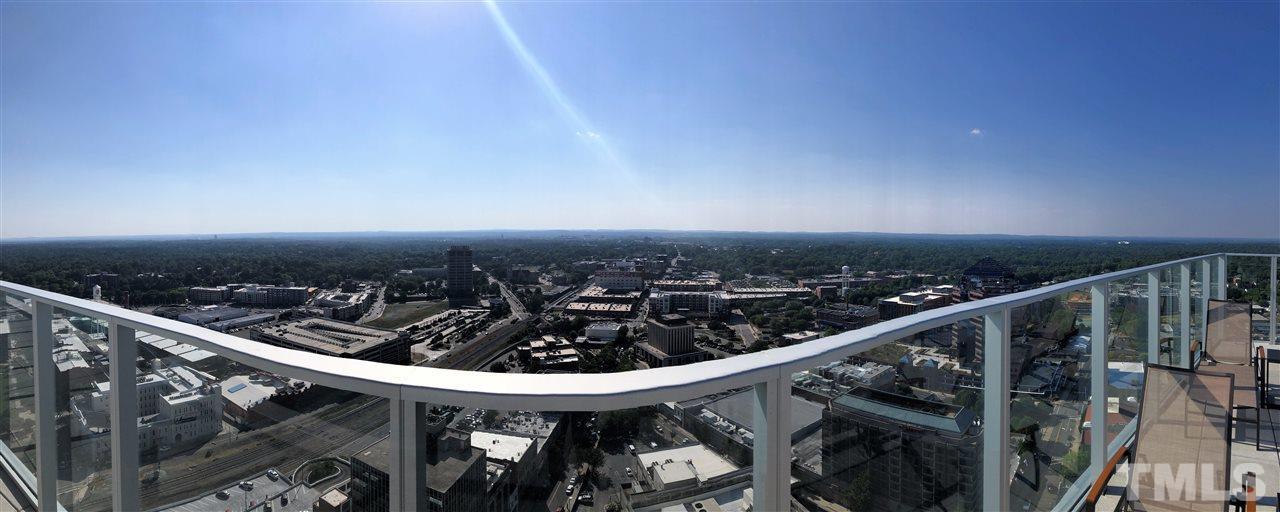 Rooftop pool has incredible views