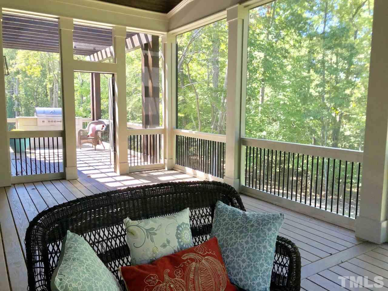Room For All Your Game Day Cookouts And Viewing Parties!   You will Love The View From This Stadium Sized Screen Porch.