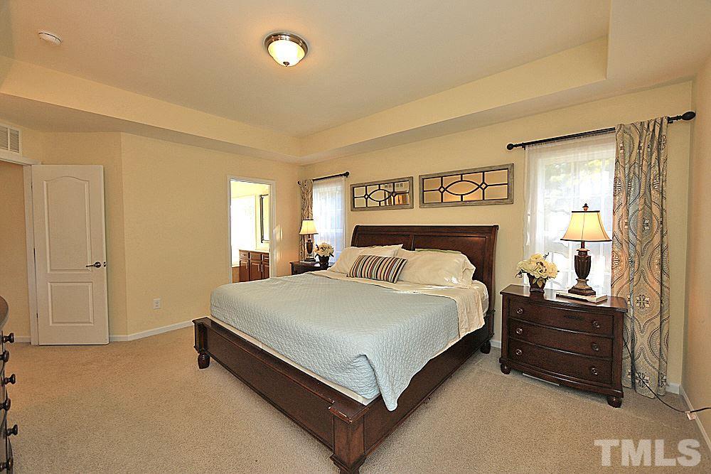 A true master suite retreat...