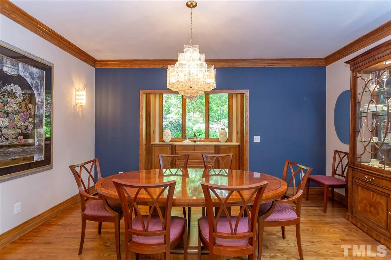 A sizable dining room that will meet the needs of a crowd. With adjoining massive pantry, this home is perfect for entertaining.