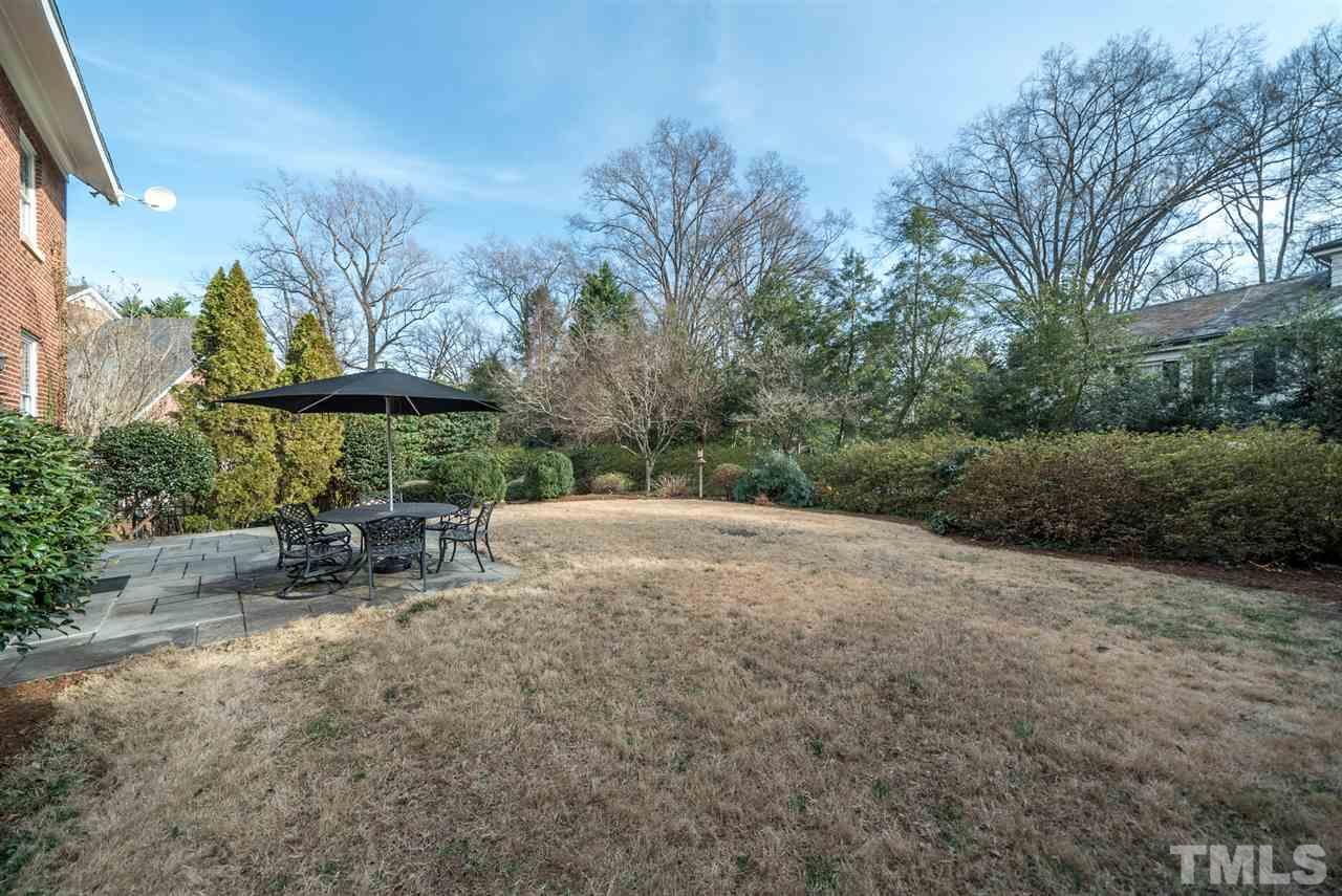 Full fenced, private, flat back yard is perfect for enjoying the weather.