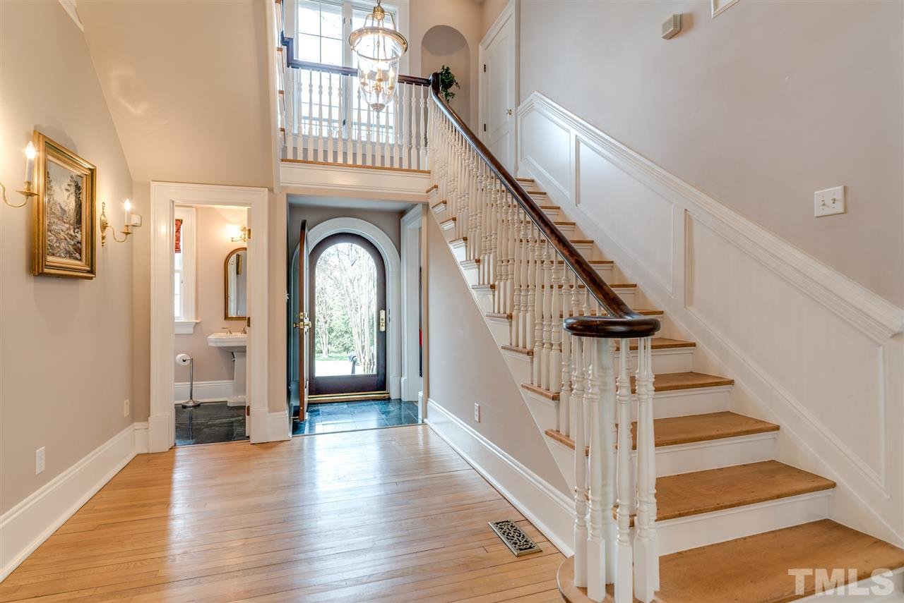 Natural light abounds in this home!  Original hardwoods throughout the first and second floors!