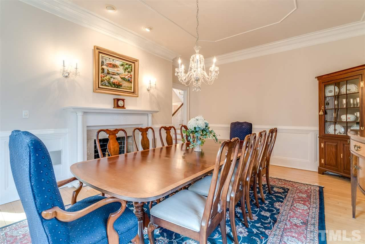 Dining room suitable to support a large table, or make it a family room!