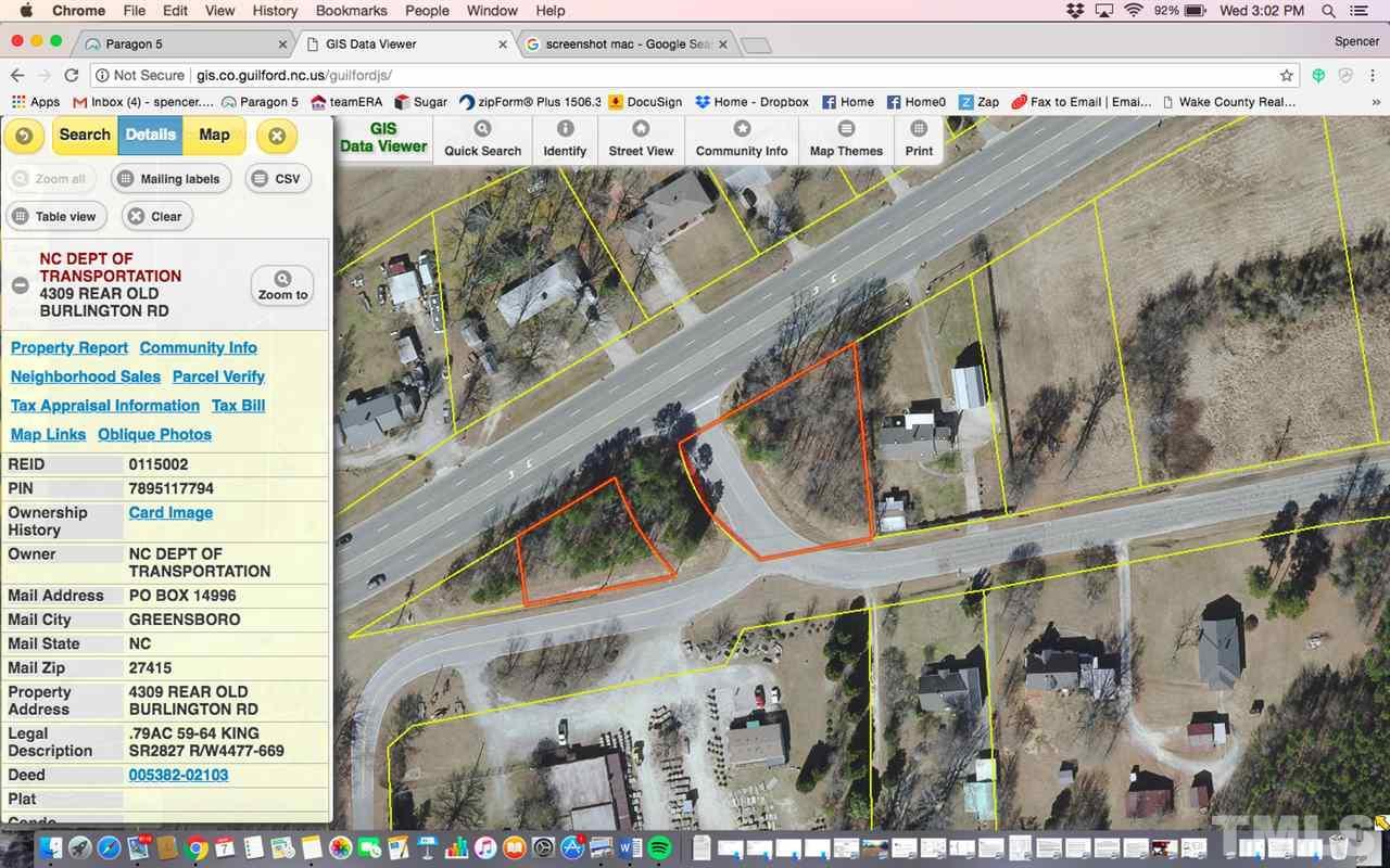 4309 Rear Old Burlington Road, Greensboro, NC | Fonville