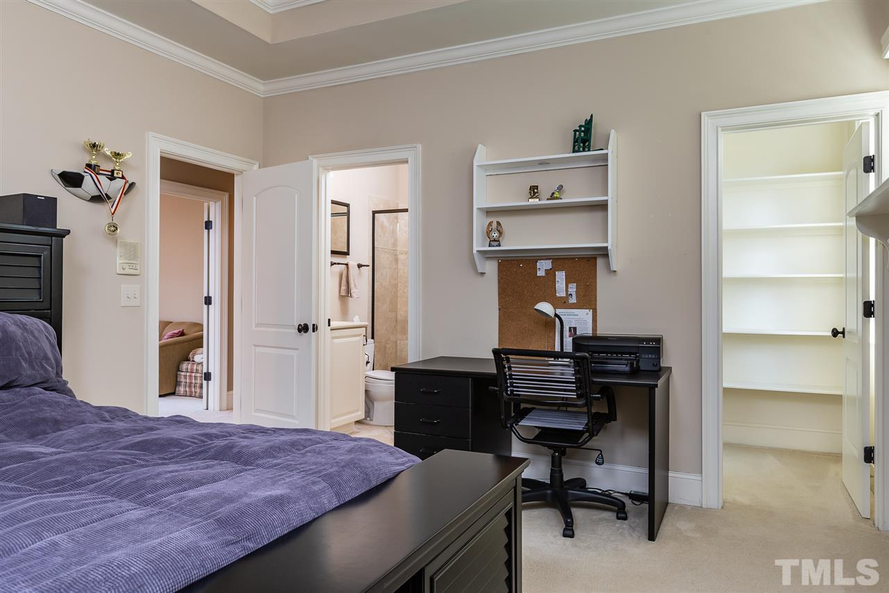 One of 5 secondary bedrooms